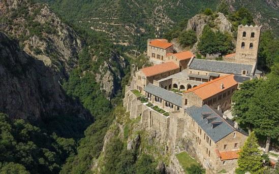 Abbaye St Martin du Canigou Steynard via Foter.com / CC BY-NC-SA Original image URL: https://www.flickr.com/photos/steynard/14855057589/