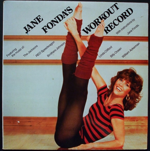 Jane Fonda's Workout Record. Jacob Whittaker via Foter.com / CC BY-NC-SA Original image URL: https://www.flickr.com/photos/jacobwhittaker/3812578164/