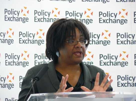 Diane Abbott MP Policy Exchange via Foter.com / CC BY Original image URL: https://www.flickr.com/photos/policyexchange/7307146230/