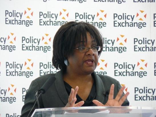 Diane Abbott MP Policy Exchange via Foter.com / CC BY Original image URL: https://www.flickr.com/photos/policyexchange/7307146230/