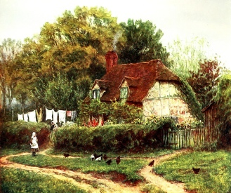 Oakhurst Cottage, Hambledon.... Cottage now owned by the National Trust