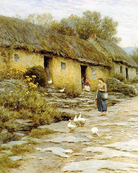 Irish Cottage....