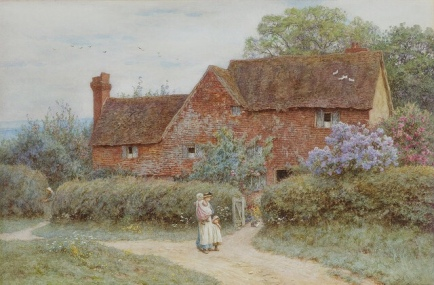 The Dairy Farm, Edenbridge.... Image: Plum leaves via flickr.com