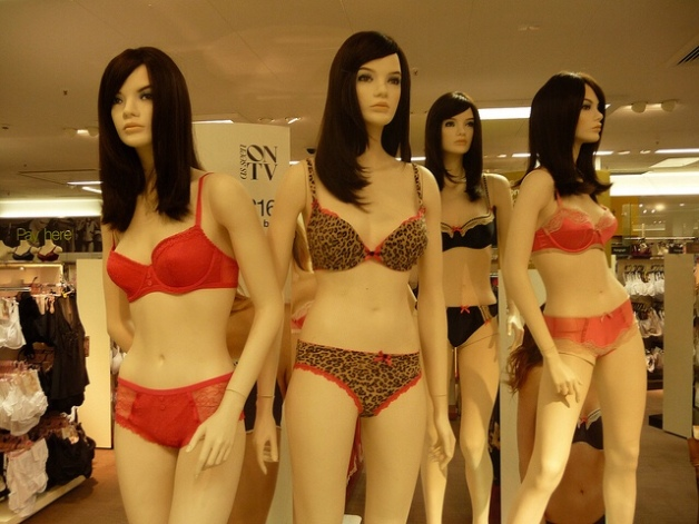 'Manikins in Underwear' Manikins in their underwear in Marks & Spencer in Exeter.... The Local People Photo Archive via flickr