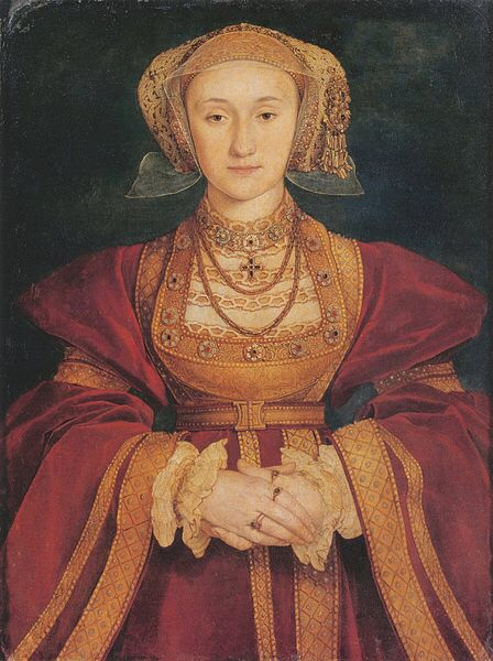 Anne of Cleves by Hans Holbein the Younger - public domain