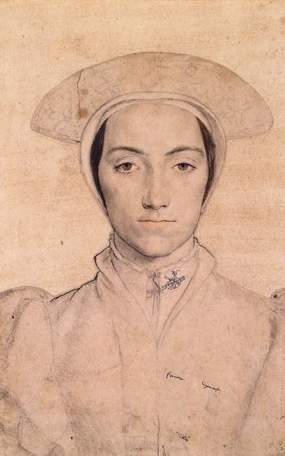 Amalia by Hans Holbein the Younger - public domain