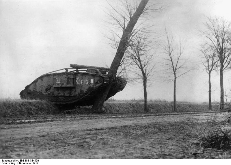 Tankschlacht bei Cambrai