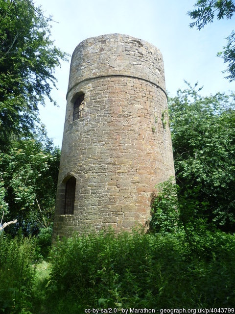 Fuller's Tower - some think built so he could oversee the restoration work of Bodiham Castle....