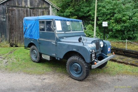 1951 Land Rover Series 1 RAF Utility at Amberley Museum & Heritage Centre vintage car show - Pete Edgeler via flickr