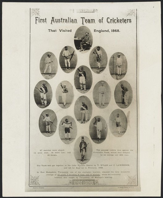 First Australian team of cricketers that visited England, 1868