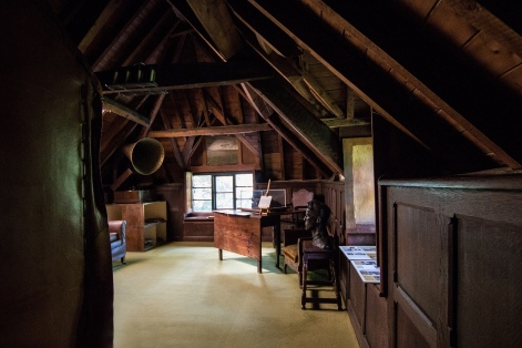 Music Room at Clouds Hill - Photo credit: Ydigresse CC BY-SA 4.0