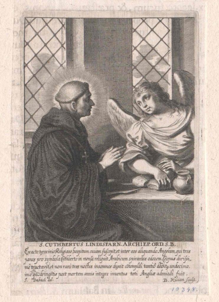 Cuthbert von Lindisfarne, Heiliger