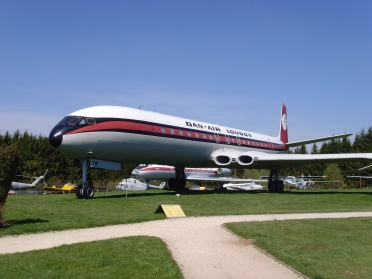 Dan-Air Comet 4C, exhibited at the Flugausstellung Hermeskeil in Germany - Klaus Nahr CC BY-SA 2.0