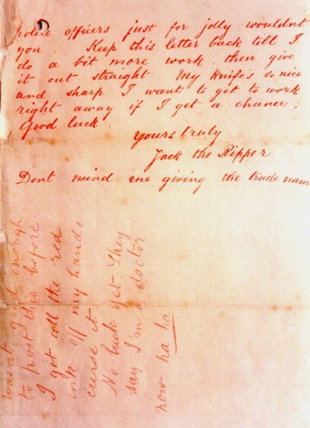 'Jack the Ripper' - Public domain