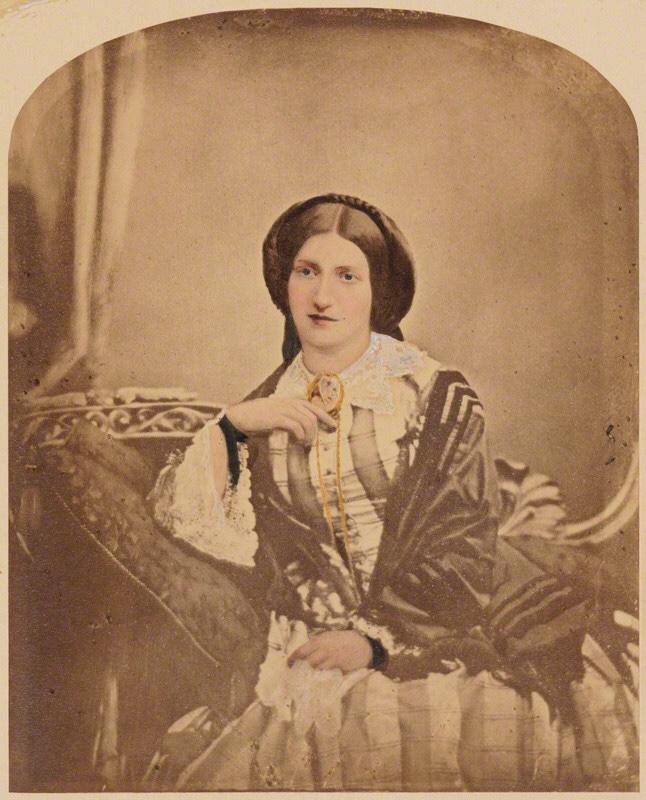 NPG P3; Isabella Mary Beeton (nÈe Mayson) by Maull & Polyblank