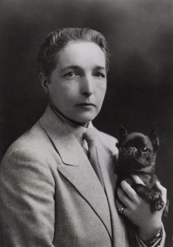 NPG x136620; Radclyffe Hall by Unknown photographer