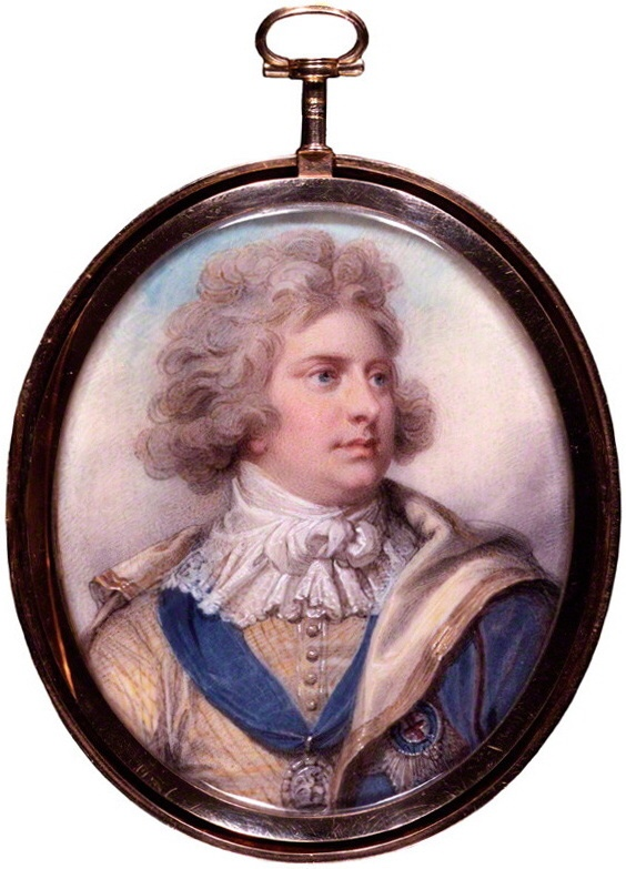 NPG 5389; King George IV by Richard Cosway