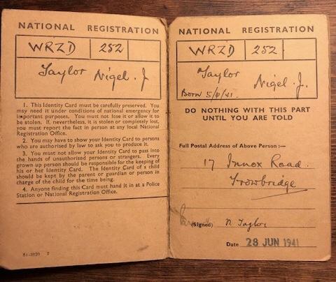 Child's Identity Card