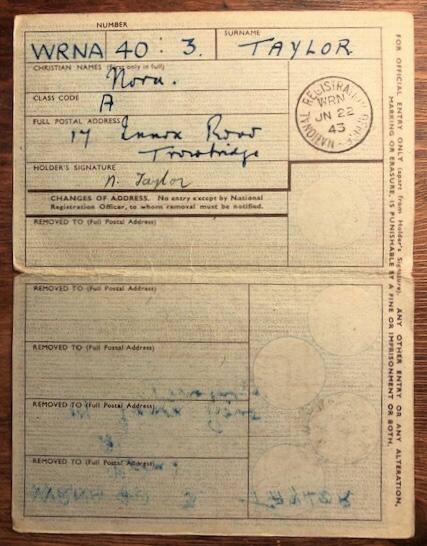 Adult's Identity Card