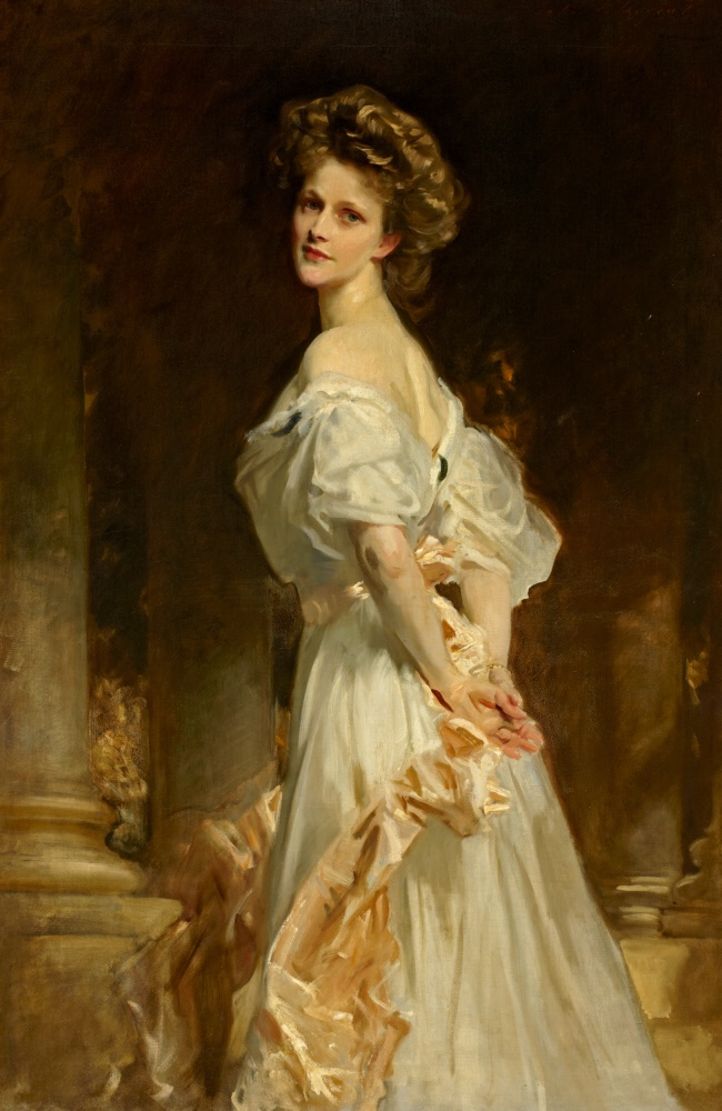Nancy Witcher Langhorne, Viscountess Astor CH, MP (1879-1964) by John Singer Sargent, RA (Florence 1856 - London 1925)